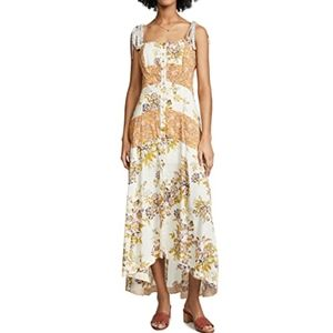 Free People Floral Lover Boy Maxi Dress